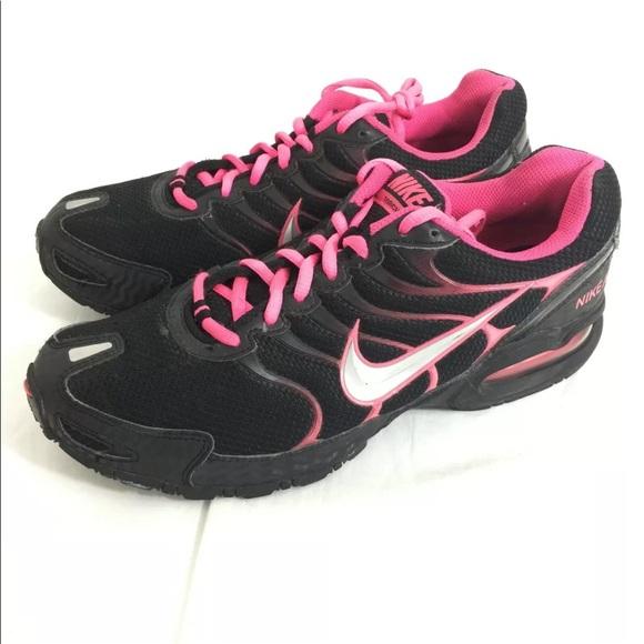 6566280629824 Nike Air Max Torch 4 black pink running shoes. M 5c748a956197455cc6814600